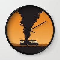 cooking Wall Clocks featuring Cooking by Jonathan Hogan