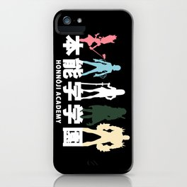 Honnoji Academy iPhone Case