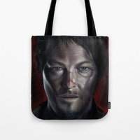 daryl Tote Bags featuring Daryl by Voss fineart
