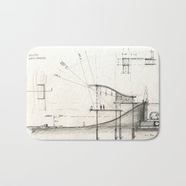 Architectural drawing Bath Mat