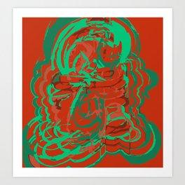 All Over Art Print