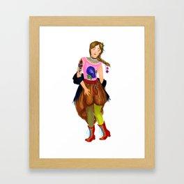 Fem!Jehan Framed Art Print