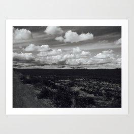 'Valley Clouds #2' Art Print