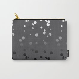 Coco Brown Gradient Spots Carry-All Pouch