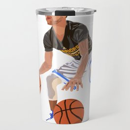 Steph Curry - NBA CUBISM Travel Mug