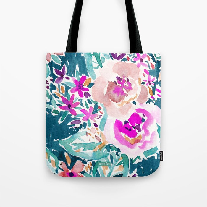 FULL ON FLORAL Tote Bag