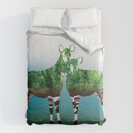 Mythical Beast: The Okapi Comforters