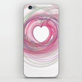 Valentine's Fractal VII - Light iPhone Skin