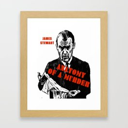 Anatomy of a Murder Framed Art Print
