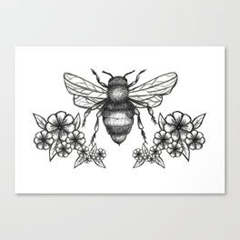 give me some sugar, little honey bee Canvas Print