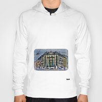 switzerland Hoodies featuring Geneva -  Switzerland by Vehen§Nes