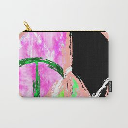 tie-dye peace Carry-All Pouch