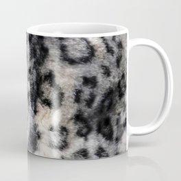 Snow Leopard Wild Cat Pattern Coffee Mug