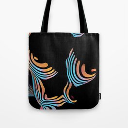 5126s-MAK Abstract Large Breasts Torso Composition Style Tote Bag