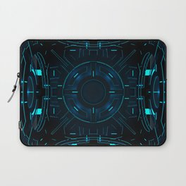 Three-dimensional constructive light cube. Decorative panel. Laptop Sleeve