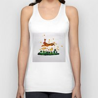 hare Tank Tops featuring Hare by Condor