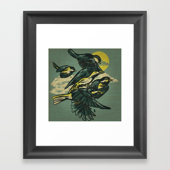 The Gatherers Framed Art Print