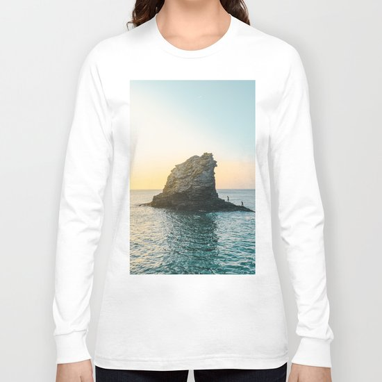 Rock in the sea 2 Long Sleeve T-shirt