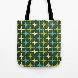 Mid Century Modern Star Pattern 581 Tote Bag