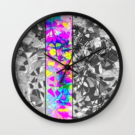 Pink Interlude. Wall Clock