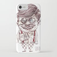nerd iPhone & iPod Cases featuring NERD by Masss Petrone