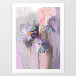 camomiles Art Print