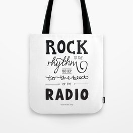 Kings of Leon hand-lettered print Tote Bag