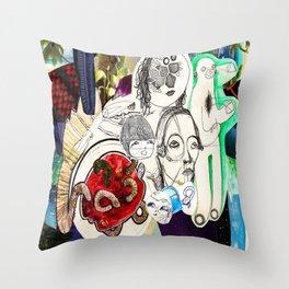 Collage 42 Throw Pillow