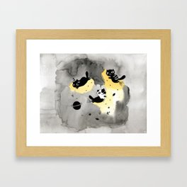 My planet Framed Art Print