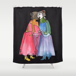 Timeless Lady Love Shower Curtain