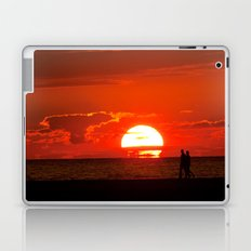Walking at Sunset Laptop & iPad Skin