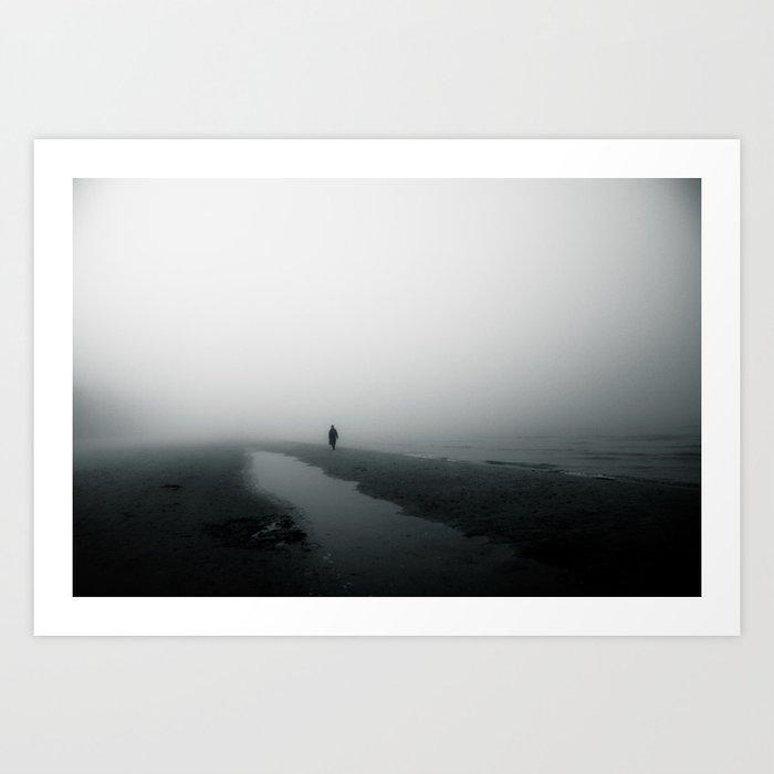 vast stillness Art Print