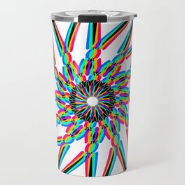 Edelweiss - White Travel Mug