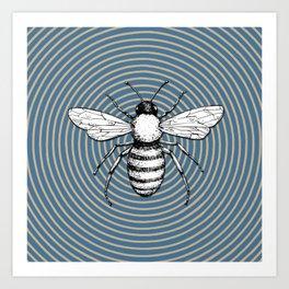 Pop Art  Bee Art Print
