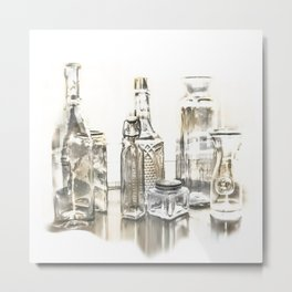 All Bottled Up Metal Print