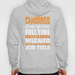 Plumber Apprentice Wizard Hoody