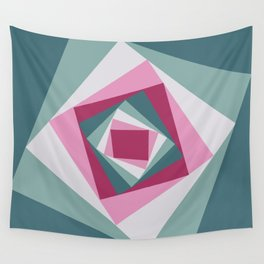 Abstract squares 2 Wall Tapestry