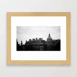 PANTHEON. Framed Art Print