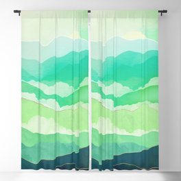 Emerald Spring Blackout Curtain