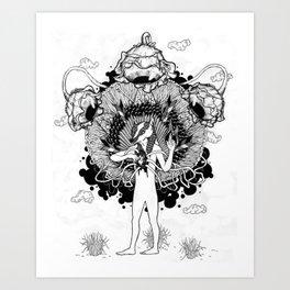 Groundwalker Art Print