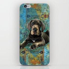 Great Dane Puppy iPhone Skin