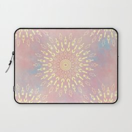 Star Bursts Mandala Laptop Sleeve
