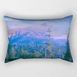 Black Hills Dark Skies Rectangular Pillow