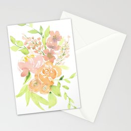 Peony and Roses Stationery Cards
