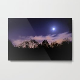 Bourgoyen at night Metal Print