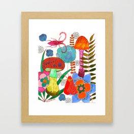 Foraging For Your Heart Framed Art Print