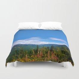 Northern Cascade Sky Duvet Cover