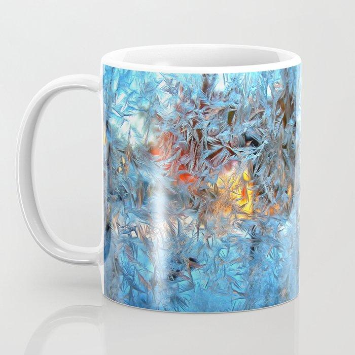 Frozen window Coffee Mug