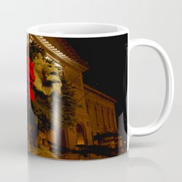 Chicago's Lions in Winter #3 (Chicago Christmas/Holiday Collection) Coffee Mug