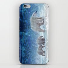 Arctic Journey of Polar Bears iPhone & iPod Skin
